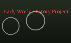 Early World History Project