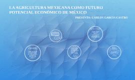 LA ECONÓMIA MEXICANA COMO POTENCIAL ECONÓMICO DE MEXICO