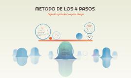 Copy of Copy of METODO DE LOS 4 PASOS