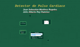 Detector de Pulso Cardiaco