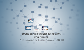 SEVEN PEOPLE I WANT TO BE WITH FOR DINNER