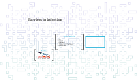 Barriers to infection skrt