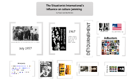 The Situationist International influence on culture jamming