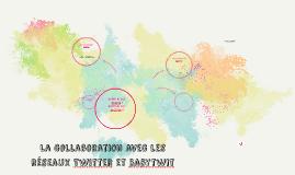 La collaboration avec les réseaux Twitter et Babytwit