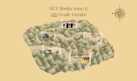 DCF Books 2014-15