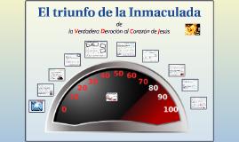 """Presentación """"El triunfo de la Inmaculada"""""""