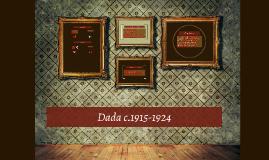 Dada 1915-1924