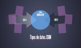 Tipos de datos JSON
