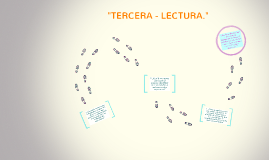 """TERCERA - LECTURA."""