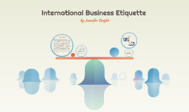 International Business Etiquette