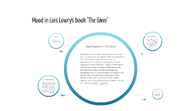 Copy of Mood in Lois Lowry's 'The Giver'