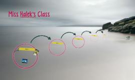 Miss Halek's Class