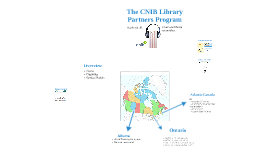The CNIB Library Partners Program