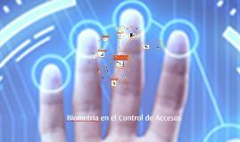 Biometria Control de Acceso
