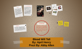 Copy of Blood Will Tell