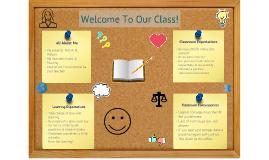 Visual Narrative Bulletin Board