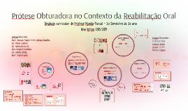 Copy of Prótese Obturadora no Contexto da Reabilitação Oral