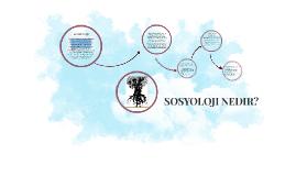 Copy of SOSYOLOJI