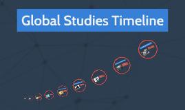 Global Studies Timeline