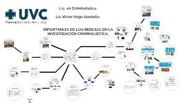 IMPORTANCIA DE LOS INDICIOS EN LA       INVESTIGACIÓN CRIMIN