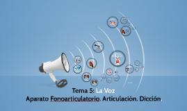 Tema 5: La Voz