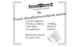 Mérési prezentáció