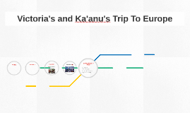 Victoria's and Ka'anu's Trip To Europe