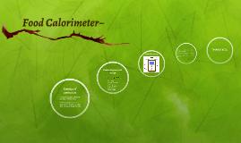 Food Calorimeter