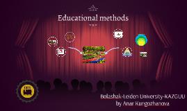 Educational methods