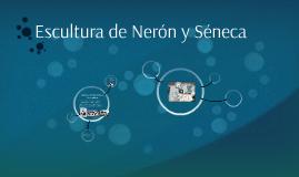 Escultura de Nerón y Séneca
