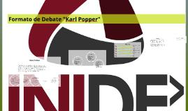 """Copy of Copy of Formato de Debate """"Karl Popper"""""""