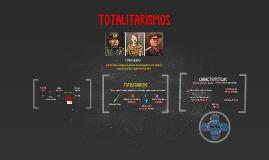 Copy of TOTALITARISMOS