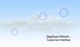 DataFlyte Website - Customer Interface