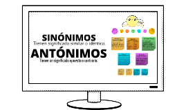 Copy of Sinonimos y Antonimos