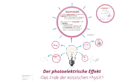 Copy of Der photoelektrische Effekt