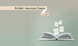 British-American Essays.