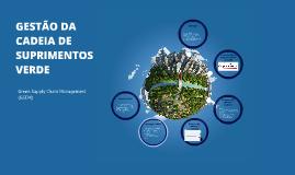 Copy of Gestão da Cadeia de Suprimentos Verde