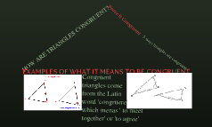 Prove it Congruent