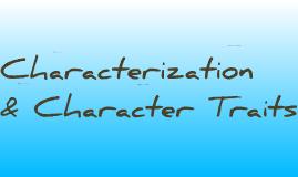 Characterization 2013