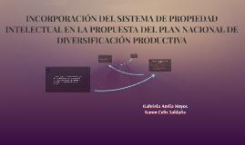 INCORPORACIÓN DEL SISTEMA DE PROPIEDAD INTELECTUAL EN LA PRO