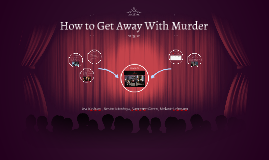 how to get away with murderon prezi, Modern powerpoint