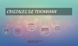 CRISTALES DE TEICHMAN