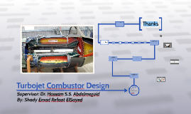 Turbojet Combustor Design