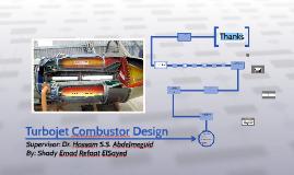 Turbojet Combustor Design