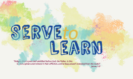 Copy of Serve to Learn