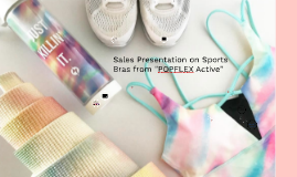 Sales Presentation on Sports Attire