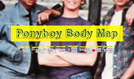 Ponyboy Body Map