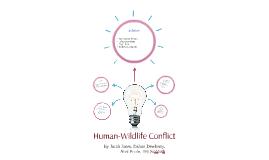 Human-Wildlife Conflict