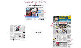 Journalism Jargon