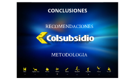 CONCLUSIONES, RECOMENDACIONES Y METODOLOGIA